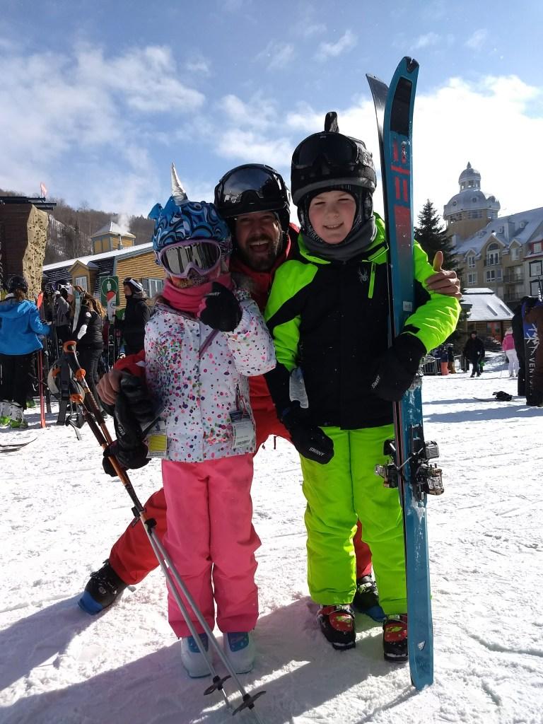 best ski instructors for kids at Tremblant