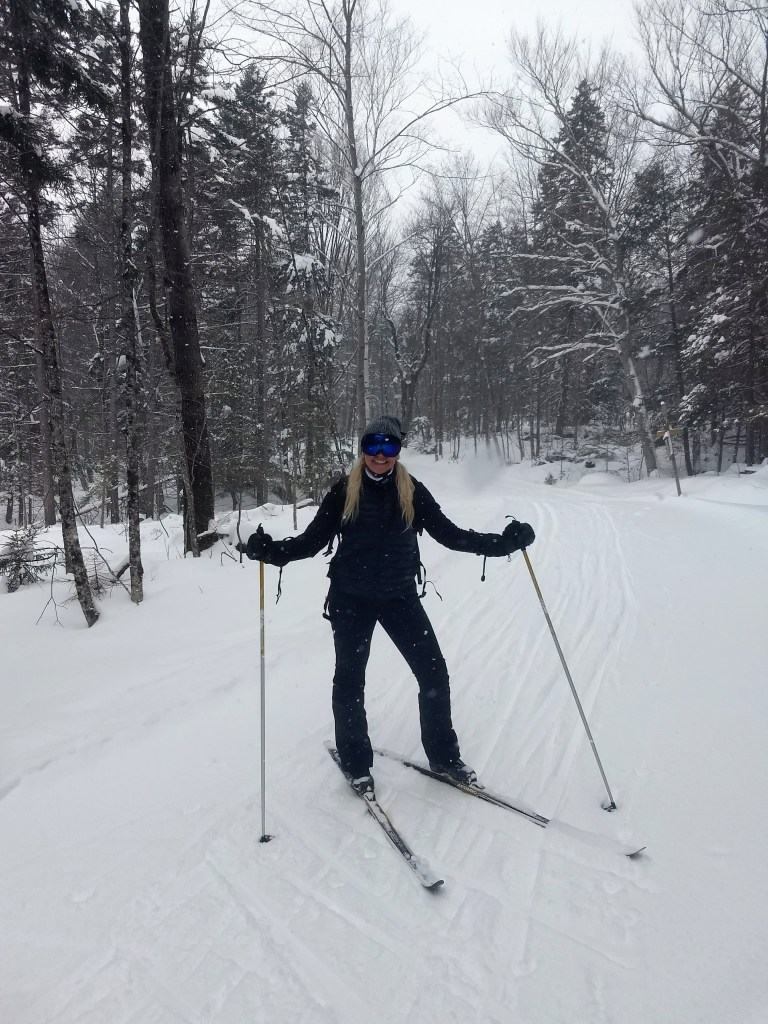 Cross country skiing Trapp Family Lodge vermont