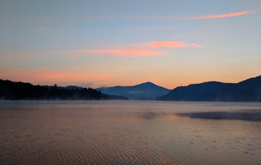 Lake-placid-sunset