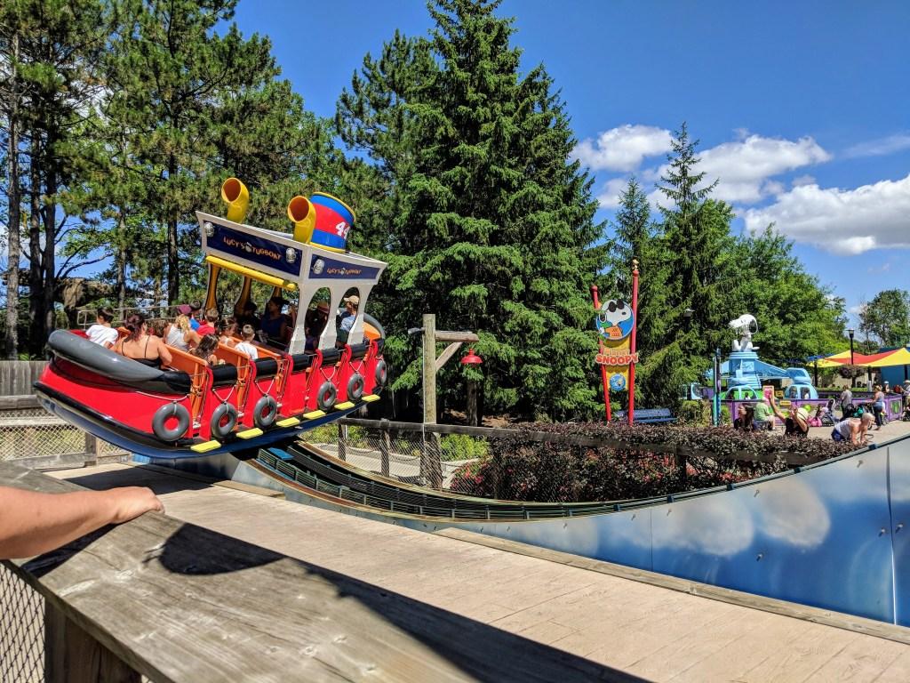 best ride for little kids at Wonderland