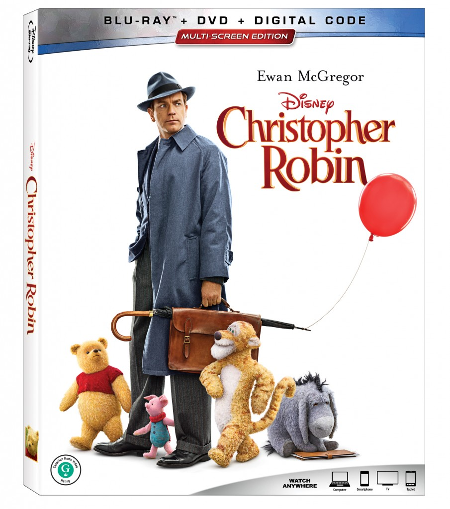 christopher robin movie dvd