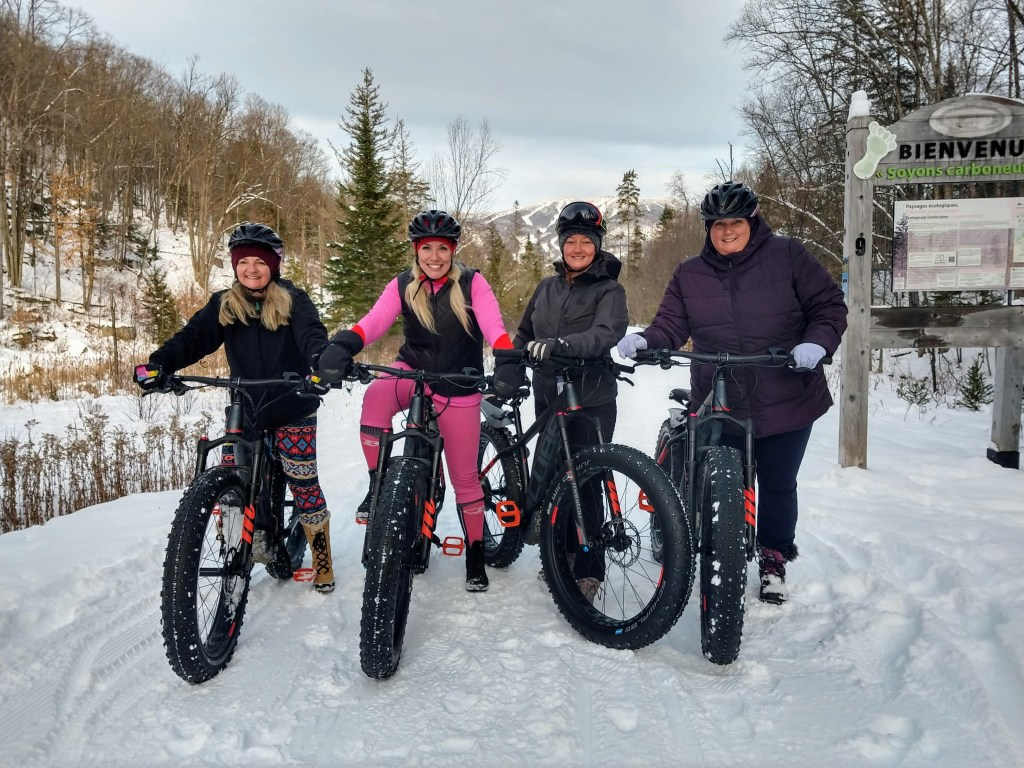 Fat biking Tremblant