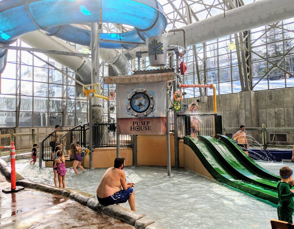 is jay peak waterpark good for babies and toddlers