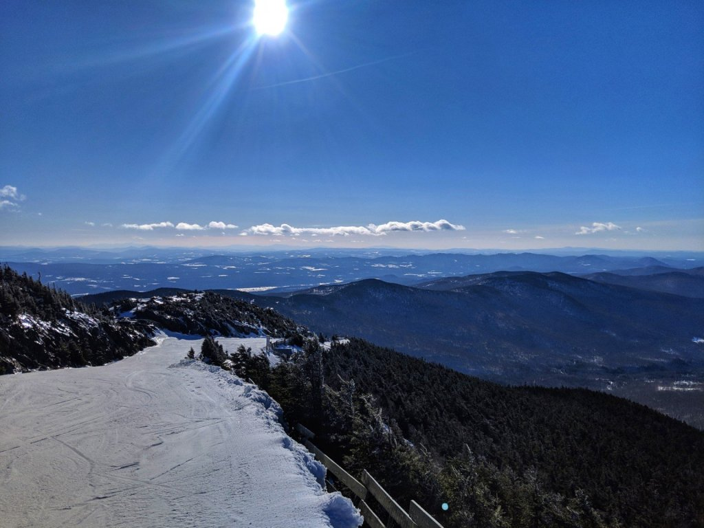 jay peak summit view