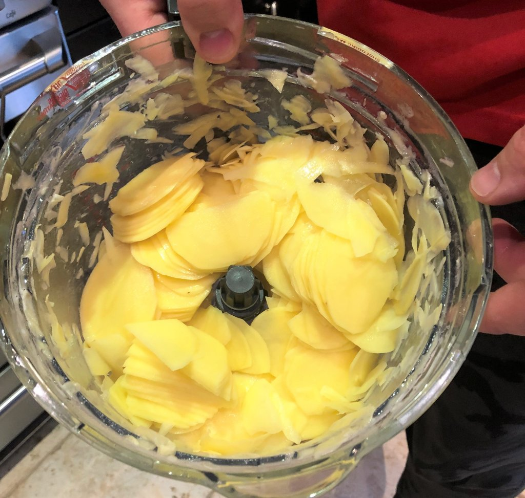 best food processor for slicing potatoes