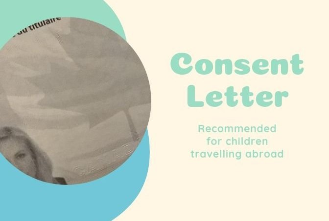 consent letter for parent travelling with children abroad