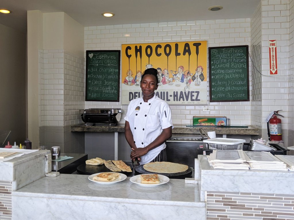 Crepes beaches ocho rios