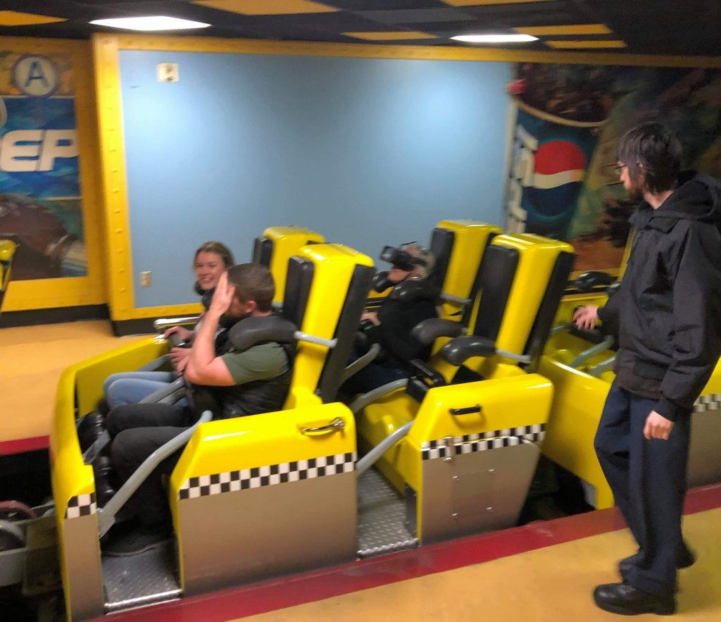 new york new york vr roller coaster