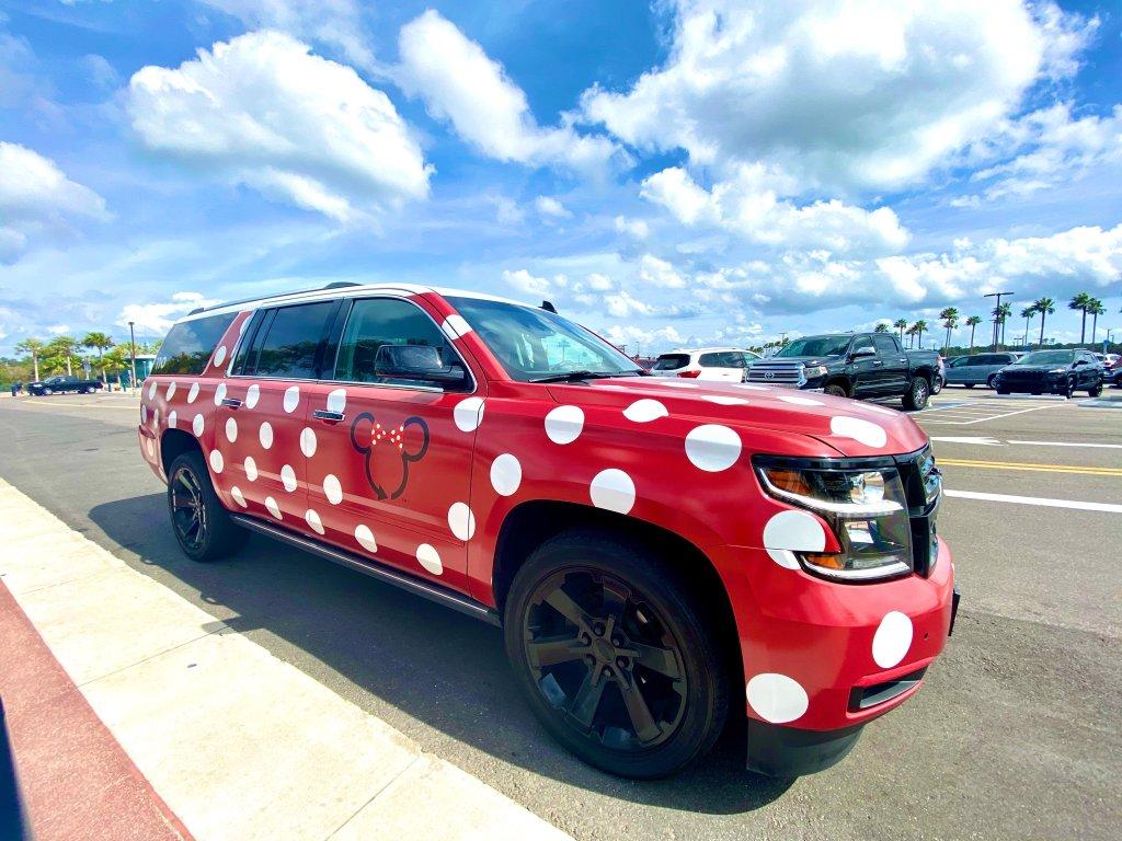 Minnie Van at Disney