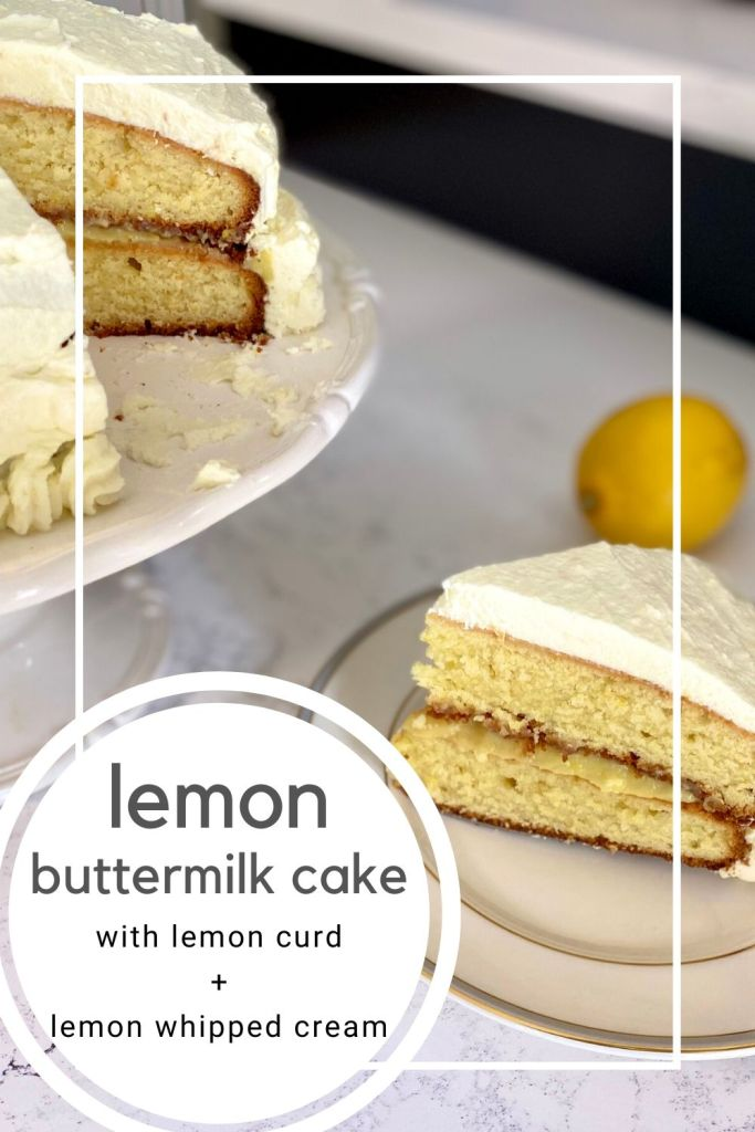 lemon buttermilk cake PIN