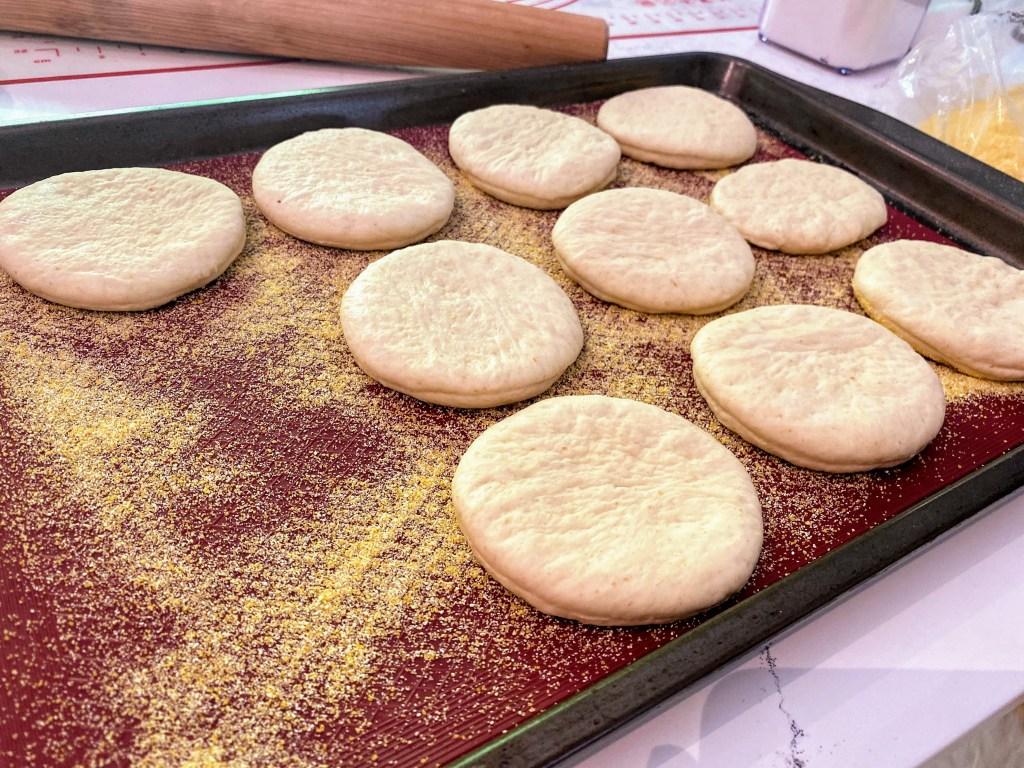sourdough discard english muffin recipe