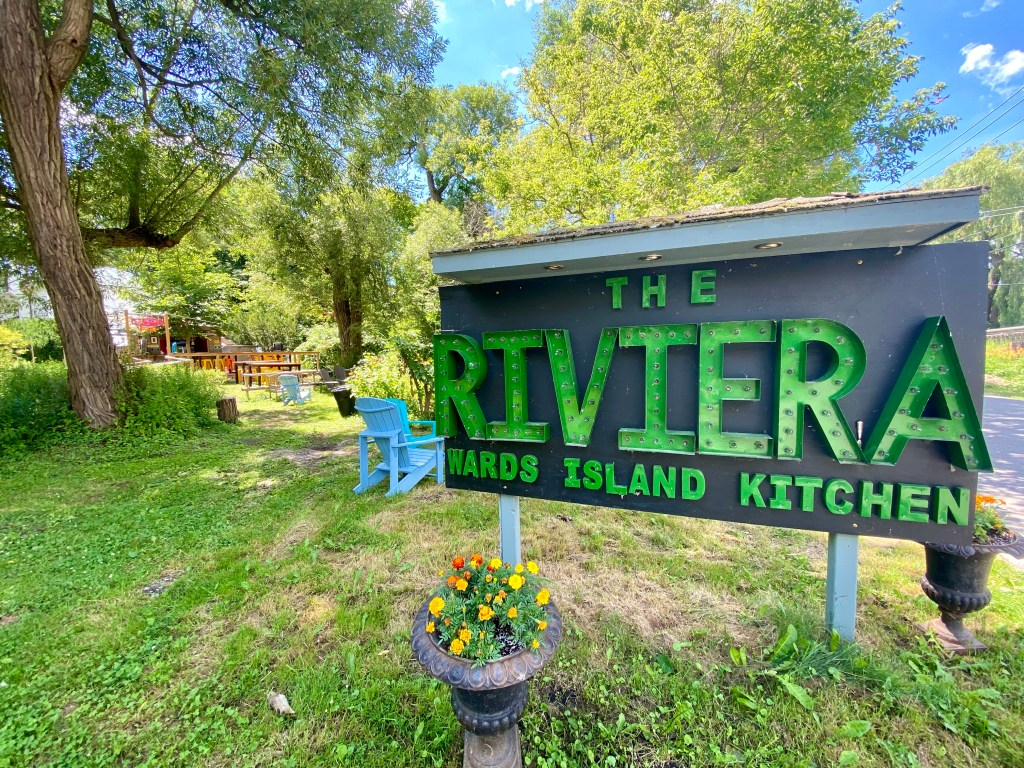 The Riviera restaurant toronto island