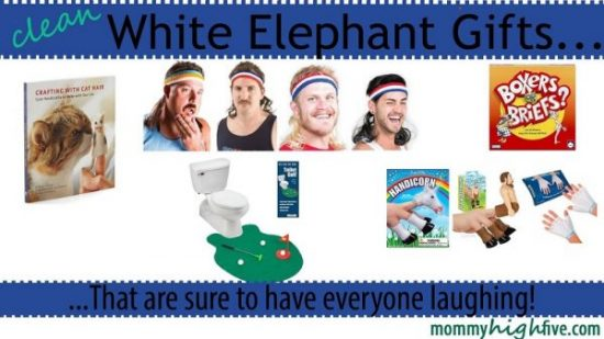 Ideas for white elephant gift exchange christmas