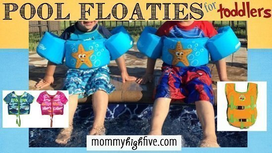 6 Good Swim Floaties for Toddlers and Preschoolers 2018