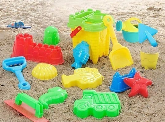 InJoy Joyin Toy 20 Pieces Beach Sand Toy Set