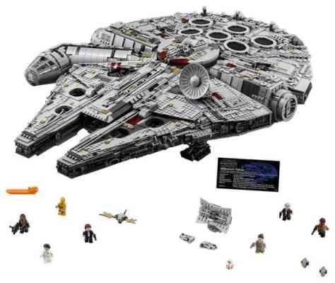 Lego Star Wars Ultimate Millenium Falcon