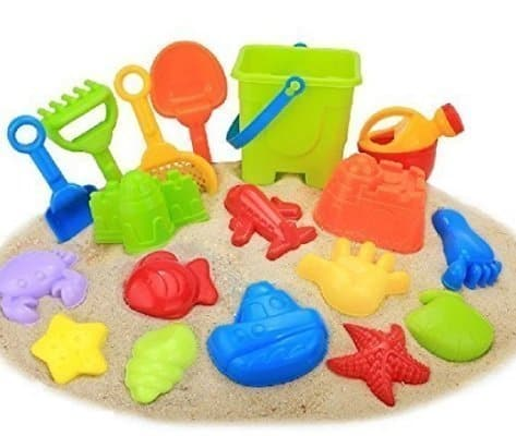Hape Beach Basics Sand Toy Set