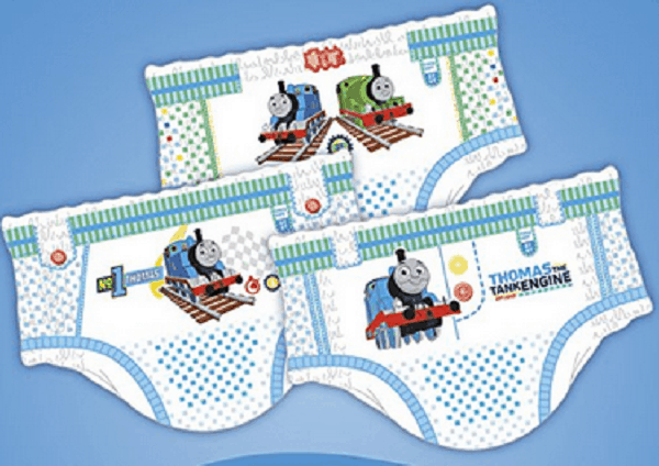 Pampers Easy Ups Absorbent Potty Training Underwear