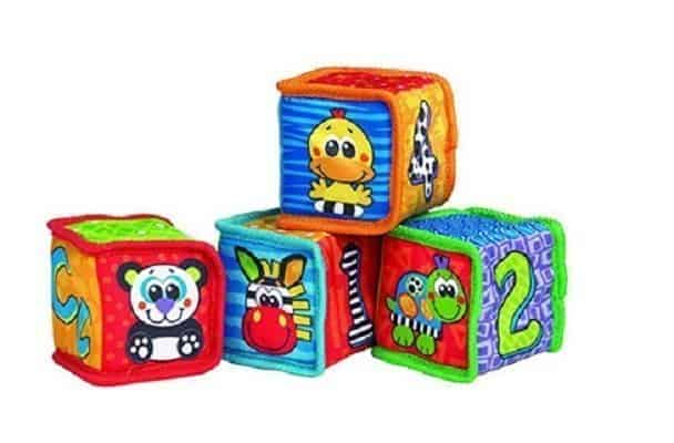 Playgro Grip 'n' Stack Soft Blocks