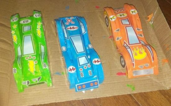 Made By Me Build & Paint Your Own Wooden Cars