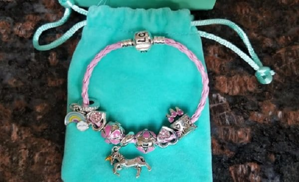 Doctor Unicorn Pink Unicorn Birthday Charm Bracelet Jewelry Gifts for Girls