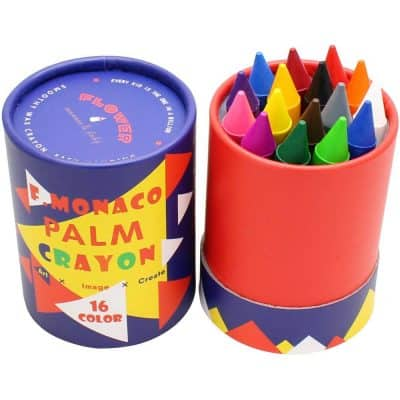 Flower Monaco Crayons by Lebze