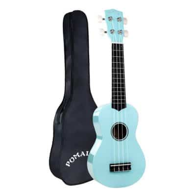 POMAIKAI Soprano Ukulele 21 Inch with Gig Bag for kids Students and Beginners