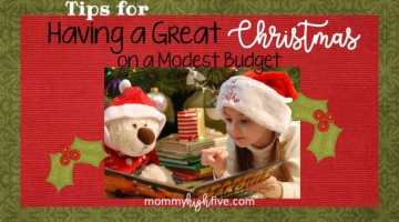 Tips for Having a Great Christmas on a Modest Budget 2018