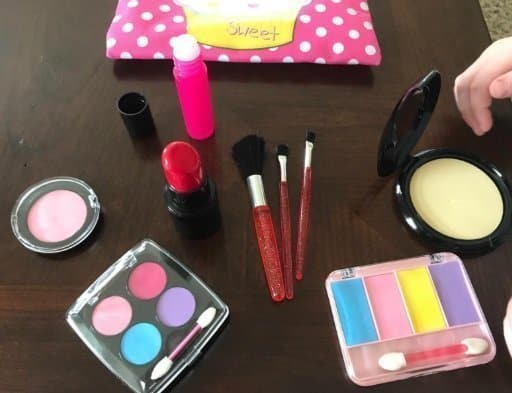 Beverly Hills Kids Pretend Play Makeup Cosmetic Kit