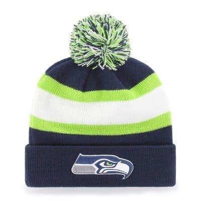 OTS NFL Knit Cap with Pom