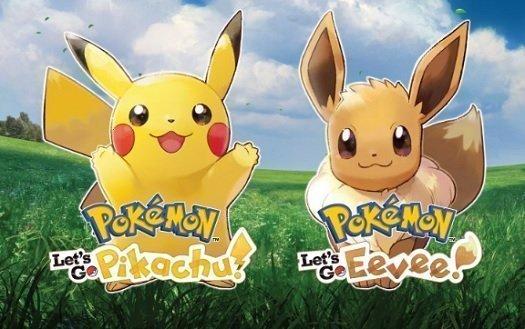 Pokemon: Let's Go Pikachu! Pokemon: Let's Go Eevee!