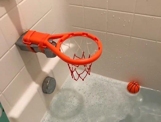 3 Bees & Me Bath Toy Basketball Hoop