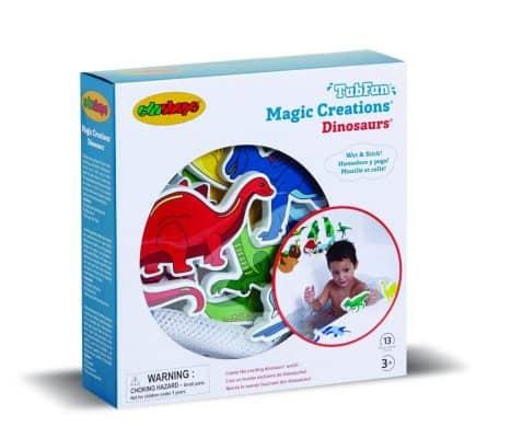 Edushape Magic Creations Dinosaur Bath Play Set
