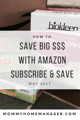 Check out this post for some of the deals deals on Amazon Subscribe and Save updated monthly.