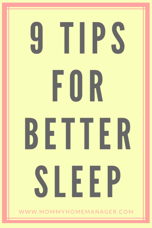 Whether you are an anxiety sufferer, are suffering from postpartum anxiety, or if you just need to calm down before bed - this post will give you ideas on how to relax for a better night's sleep.