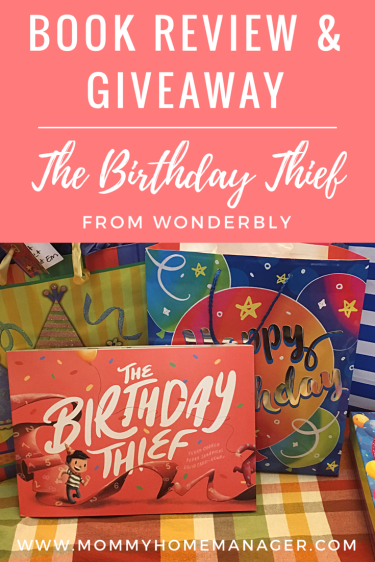 The Birthday Thief is the perfect birthday gift for a baby or kid of any age. It is a story personalized just for your little one with their name and birthday included. Checkout my review and giveaway in this post. Wonderbly is a company that offers beautiful customized children's books around the world! Book for baby. Birthday gift for baby. Customized books for kids. Personalized children's books.