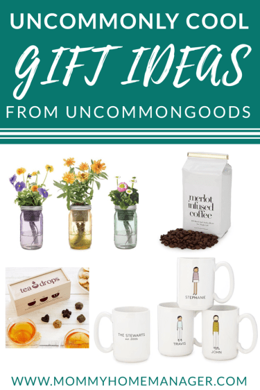 Looking for fun and unique gift ideas? Check out UncommonGoods. #giftideas #giftguide #holidaygifts