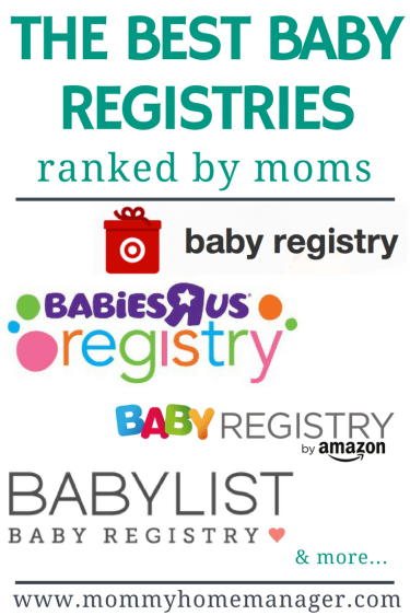 See which baby registries were voted the best baby registry by real moms! #newmom #babyregistry #pregnant #momlife