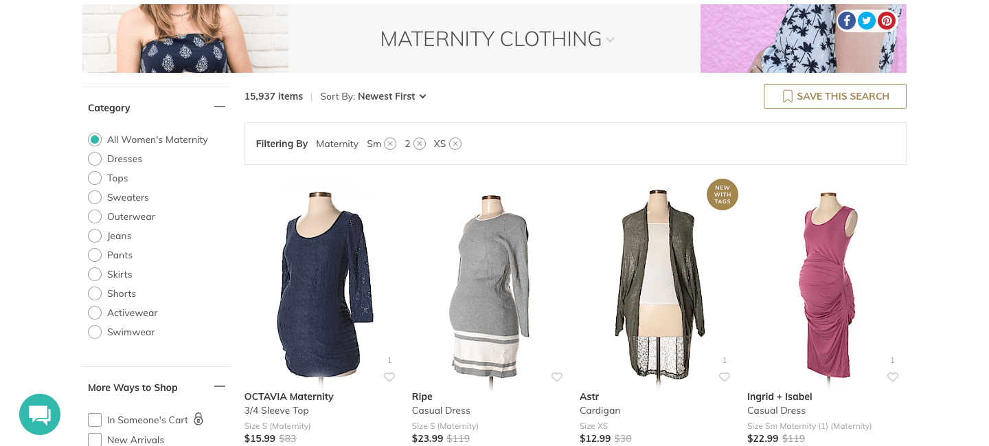 Thredup Review Maternity Edition Mommy Home Manager