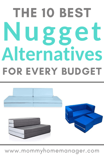 These 10 kids couches and climbing toys are great gifts to consider as Nugget alternatives. Nugget couch ideas. Kids couch options.