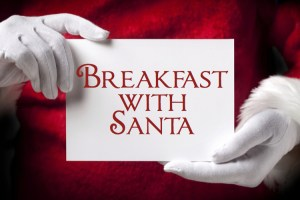 Breakfast with Santa (Various Locations)
