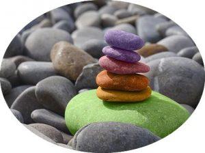 Stones shine with Love