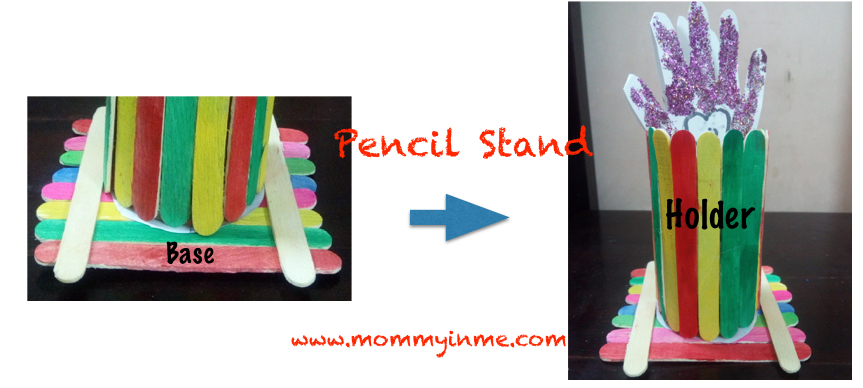 Popsicle Stick Craft Pen Or Colour Stand Parenting Lifestyle