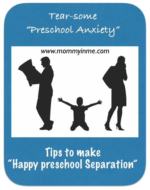 Dealing with Preschool separation anxiety