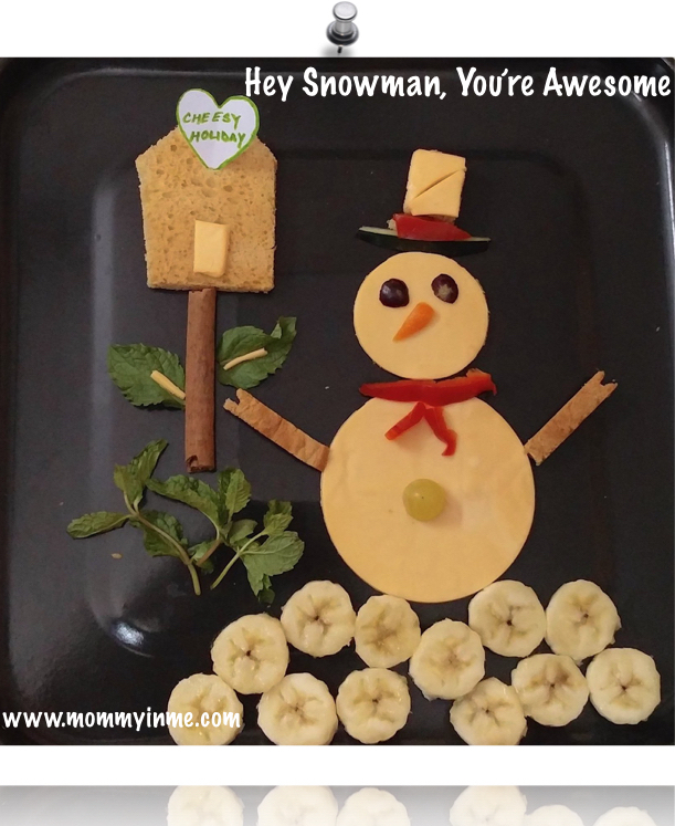 Food art : Easy way to let kids eat nutritional food