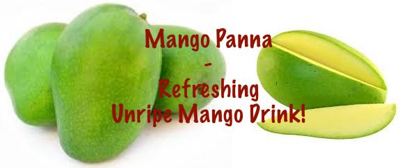 Mango Panna - Mango Summer Drink