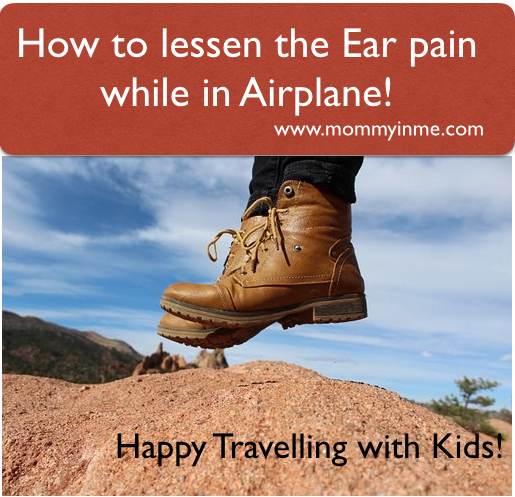 10 tricks to help children relieve Ear pain while in airplane