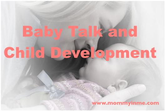 Does baby talk help in Child Development?