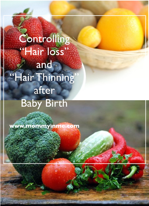 Postpartum Hair loss : 10 Best Tips to prevent hair fall and Thinning