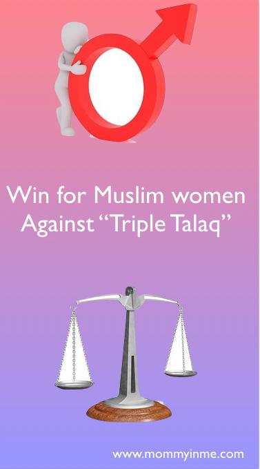 Supreme court verdict against Triple Talaq
